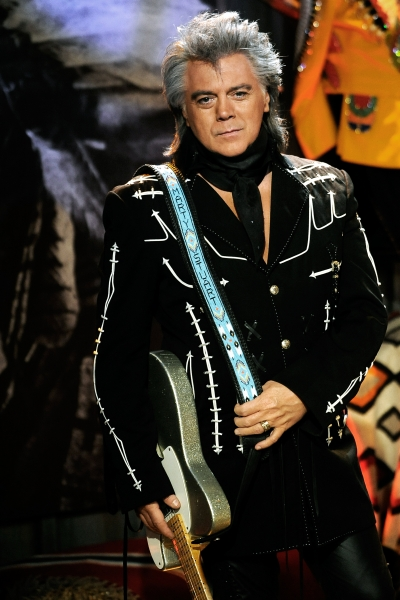 Marty Stuart's custom strap - beaded