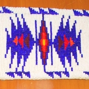 Beaded Regalia Strap